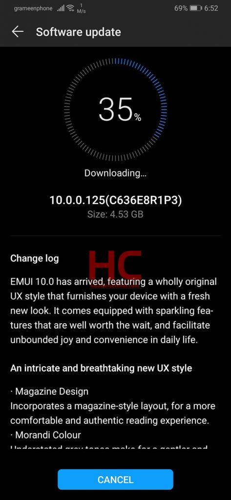 EMUI 10 Beta za Huawei P30 i P30 Pro: Popis zemalja, nove značajke i poznata pitanja 1