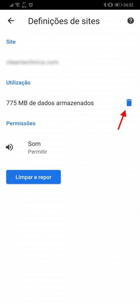 Savjet: Kako očistiti Chrome na Androidu tako što očistite Chrome 5