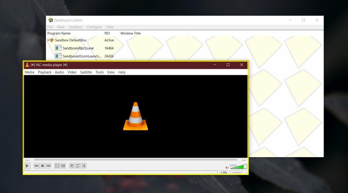 Kako pokrenuti aplikacije u načinu rada s vrećicom pijeska Windows 10 Dom 1
