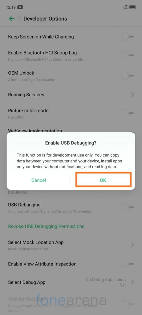 Kako deinstalirati aplikacije na realme uređajima bez korijena 2
