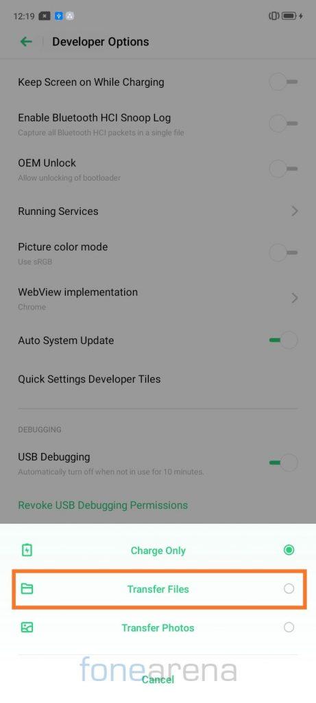 Kako deinstalirati aplikacije na realme uređajima bez korijena 3