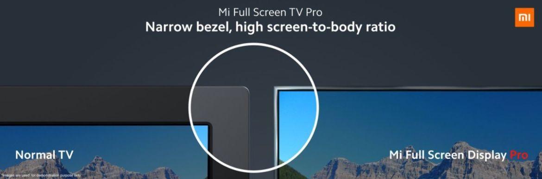 Xiaomi najavljuje Mi Pro Full TV TV; Počinje od 1499 Yuan 1