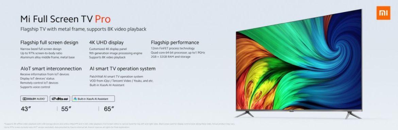 Xiaomi najavljuje Mi Pro Full TV TV; Počinje od 1499 Yuan 3