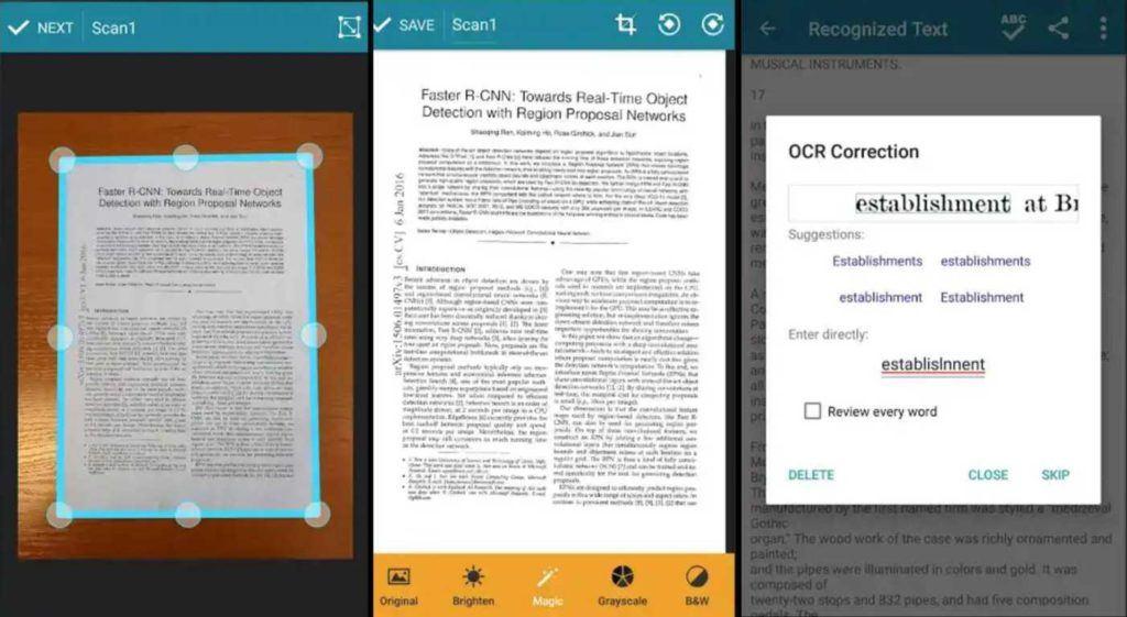 10 najboljih aplikacija za Android skener 2019. godine Spremite dokumente kao PDF 7