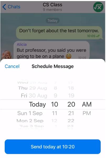 Ažuriranje Telegram v5.11 donosi zakazane poruke, prilagođene teme u oblaku, opcije sažetog sadržaja i nove postavke privatnosti 1