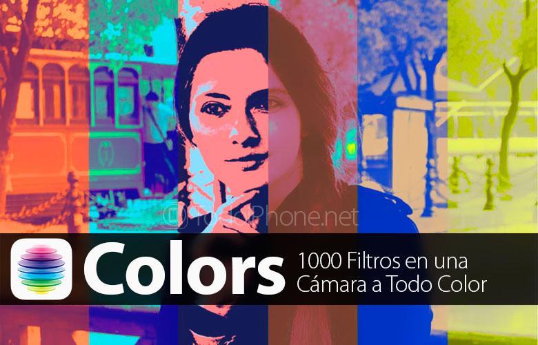 Colors, aplikacija koja donosi 1000 filtera za iPhone 1