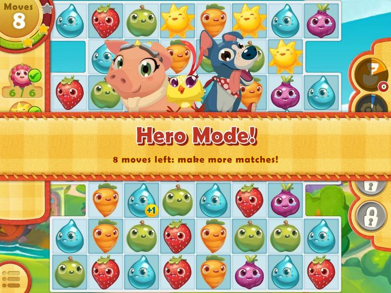 Savjeti i trikovi za brzo kretanje u Farm Heroes Saga za iPhone i iPad 2