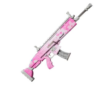 Fortnite  v10.40 Propusno ružičasto omotanje