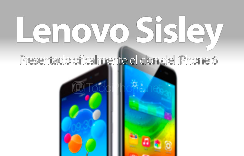 IPhone klon 6, Lenovo Sisley službeno je najavljen 1