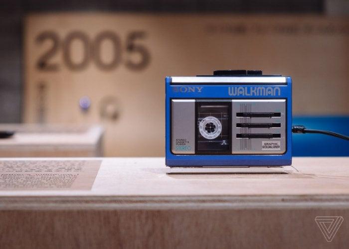 Izložba 40. rođendana Sony Walkman u Tokiju 1