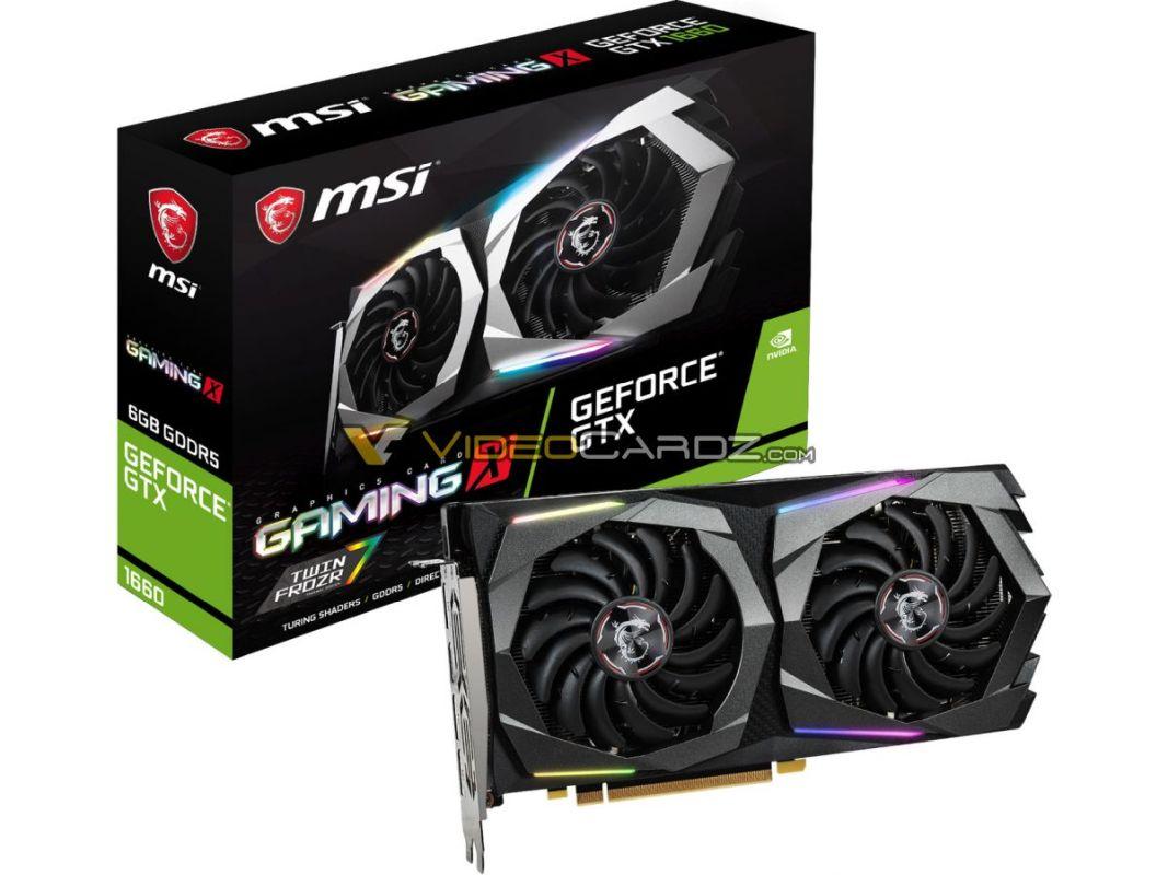 NVIDIA navodno priprema GeForce GTX 1660 Super grafičku karticu