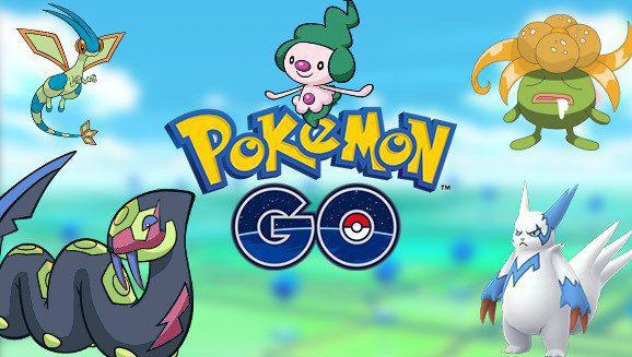 Pokemon Go New Shiny Pokemon Listopad