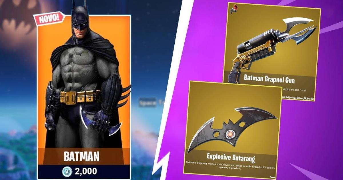 U igru dolaze kože Gotham Cityja i Batmana