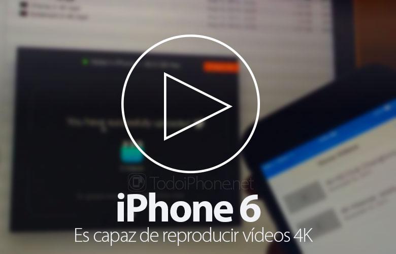 iPhone 6 Može reproducirati videozapise u 4K rezoluciji 1