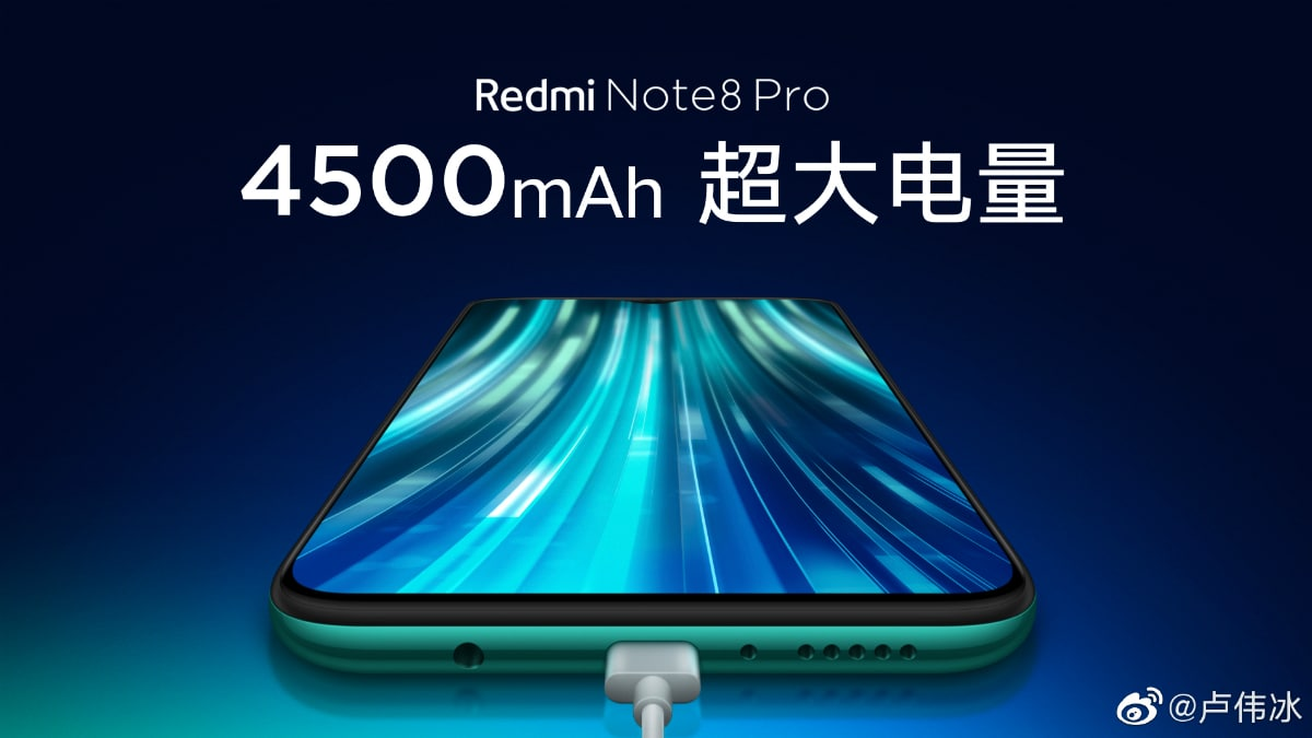 note note 8 pro teaser kapacitet teaser weibo Redmi Note 8  profesionalac