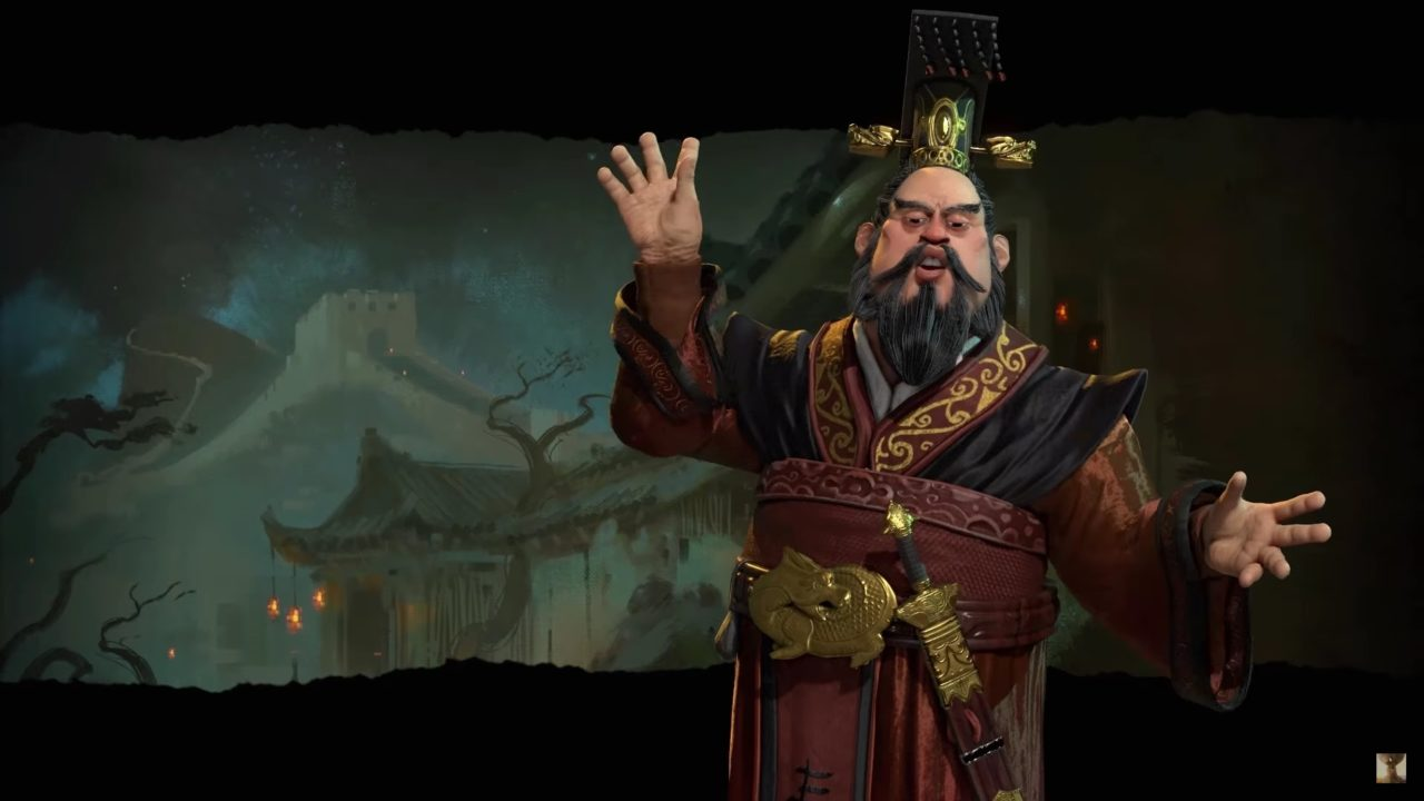Qin Shi Huang, Civ 6 Zastrašujuća smrt vođe