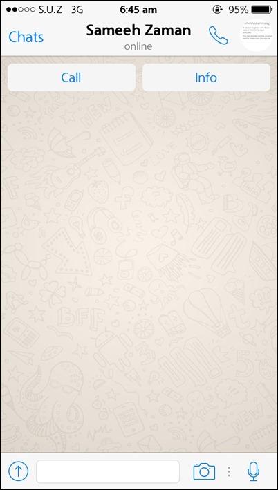 WhatsApp, aplikacija za razmjenu poruka, sada omogućuje pozive nekim korisnicima 2