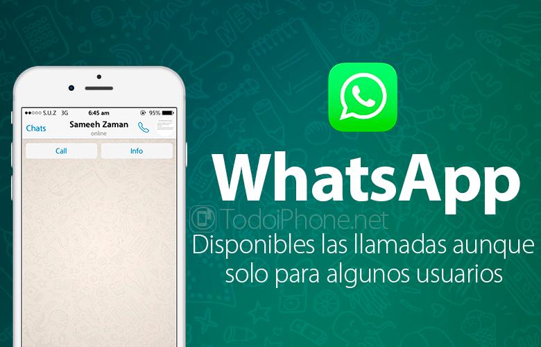 WhatsApp, aplikacija za razmjenu poruka, sada omogućuje pozive nekim korisnicima 1