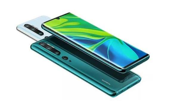 Xiaomi Mi Note 10 telefona