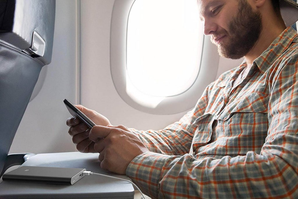 Xiaomi Mi Slim Power Bank Pro u avionu