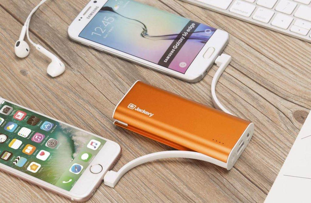 Jackery Bolt 6, 000 mAh Punjenje prijenosne Power Bank smartphones