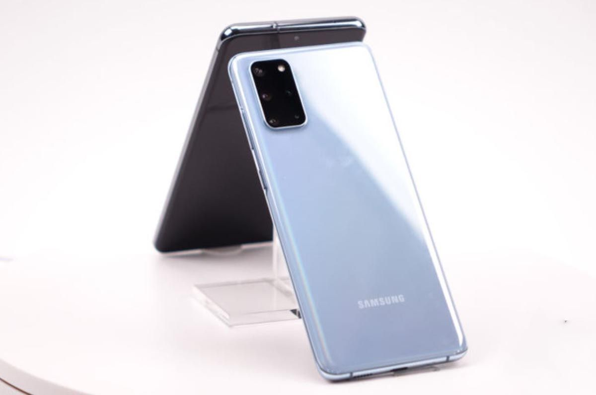 Stražnji dio Galaxy S20 Plus