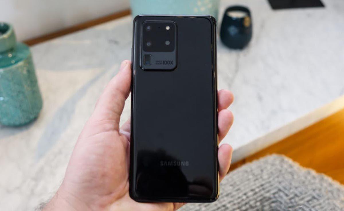 Stražnji dio Galaxy S20 Ultra