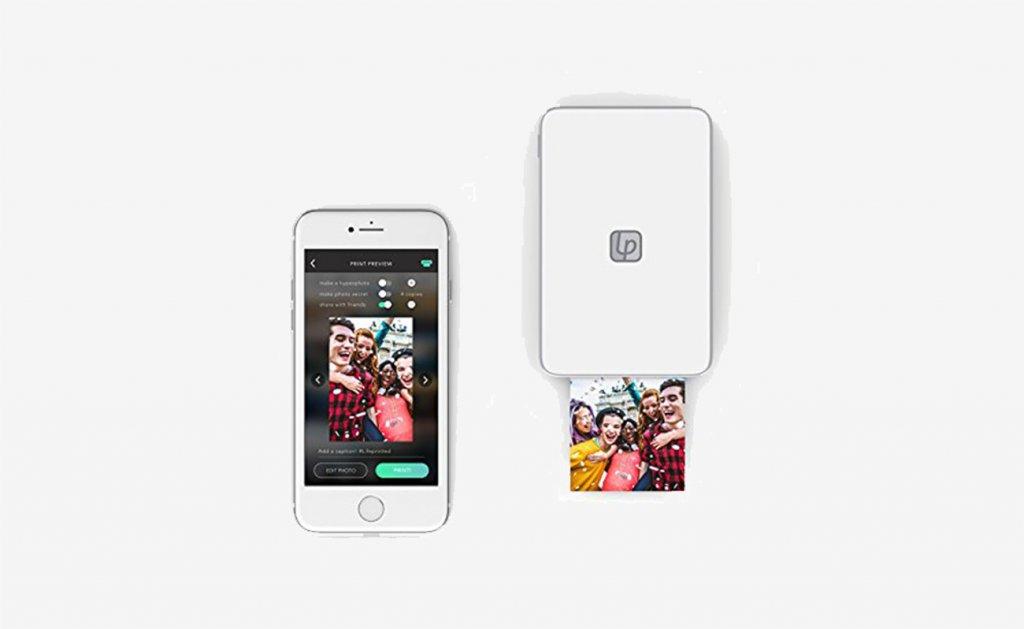 Aplikacija Lifeprint Prijenosni pisač i pametni telefon 2x3