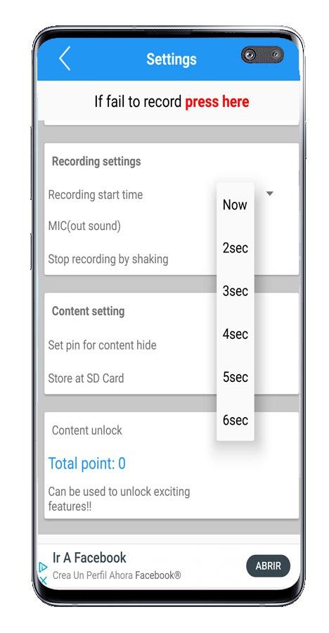 Snimite što radite sa svojim Androidom: koristite aplikaciju Snimač uživo - Snimajte uživo zaslon sa zvukom 2