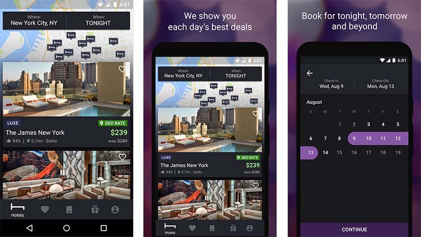 HotelTonight - najbolje hotelske aplikacije android