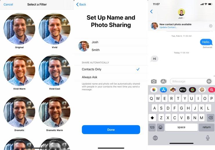 Kako dijeliti fotografiju i ime vašeg iMessage profila 1