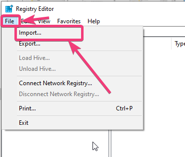 Uvoz Windows 10 registar 80