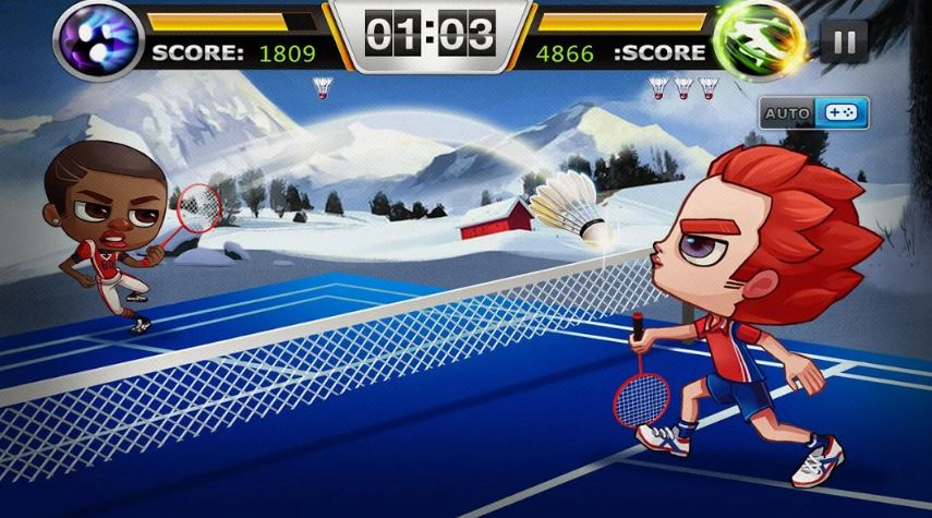 Badminton Legend sportska igra za smartphones