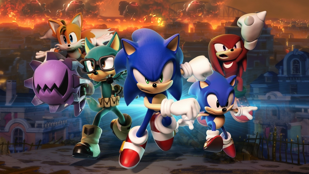 Pridružite se Sonic i njegovim prijateljima na ovoj nevjerojatnoj pustolovnoj avanturi
