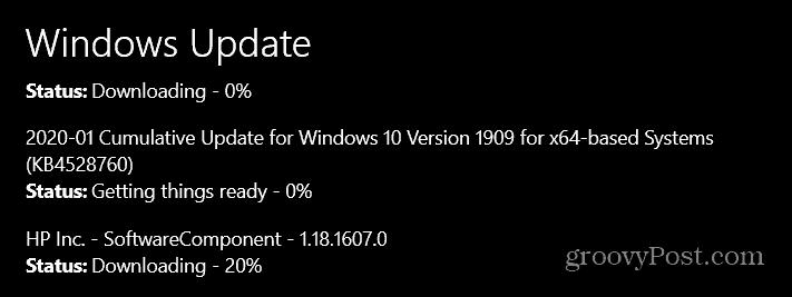 Microsoft objavljuje siječanjske nadogradnje ažuriranja za Patch Windows 10 1