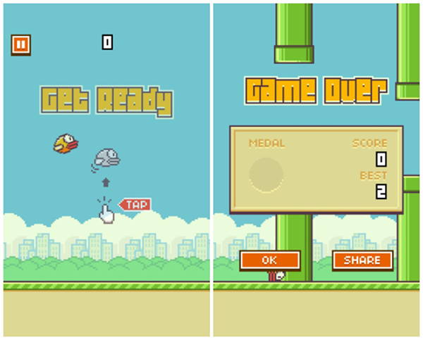 Flappy Bird iPhone iPad