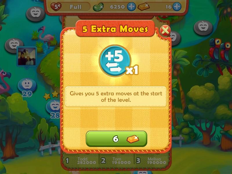 Savjeti i trikovi za brzo kretanje u Farm Heroes Saga za iPhone i iPad 4