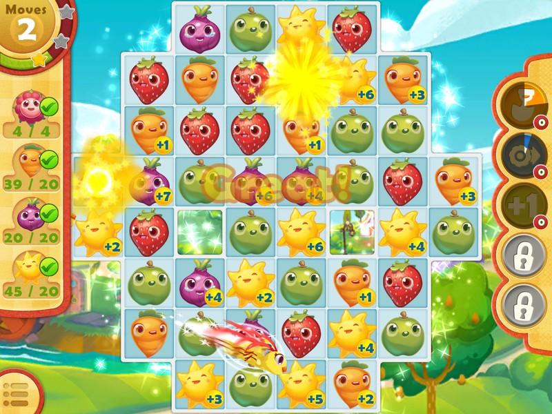 Savjeti i trikovi za brzo kretanje u Farm Heroes Saga za iPhone i iPad 5