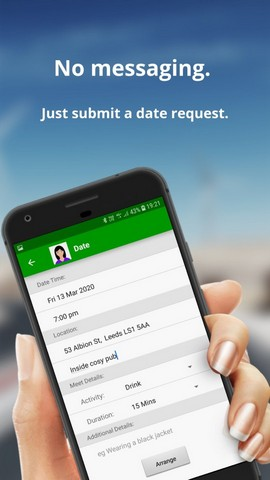 Date upoznavanje nova Nova aplikacija