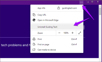Microsoft Edge Chromium Instalirajte Deinstalirajte PW As 6