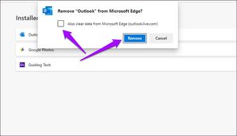 Microsoft Edge Chromium Instalirajte Deinstalirajte PW As 9