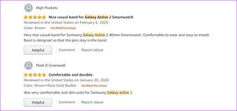 Najbolji Samsung Galaxy Aktivan 2 Kožne trake Joyozy2