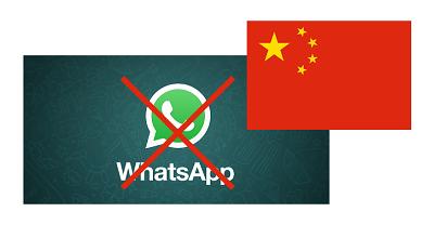 WhatsApp zabranjen u Kini