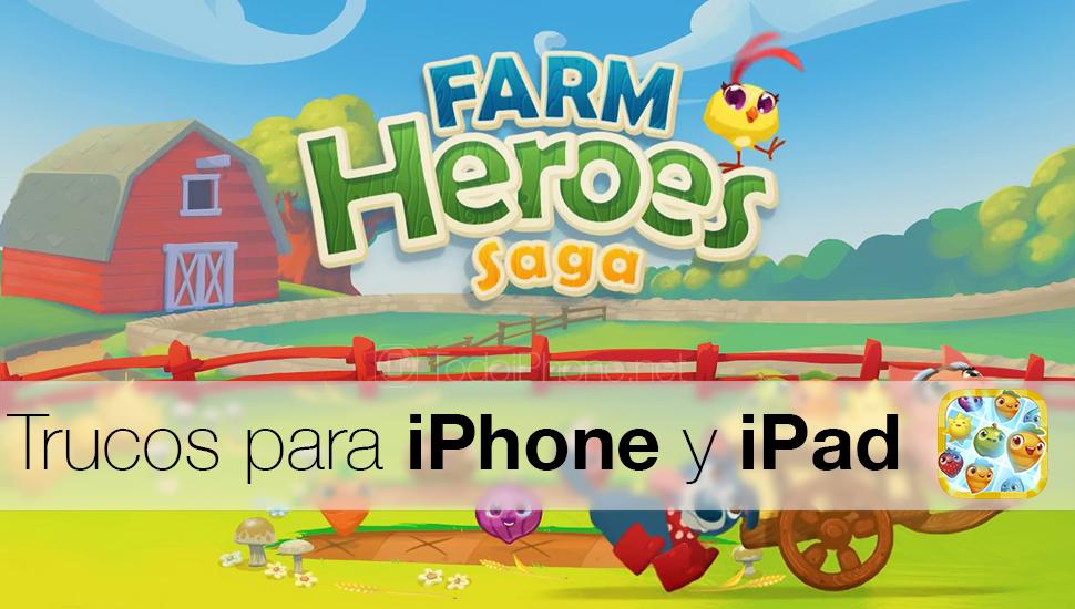 Savjeti i trikovi za brzo kretanje u Farm Heroes Saga za iPhone i iPad 1