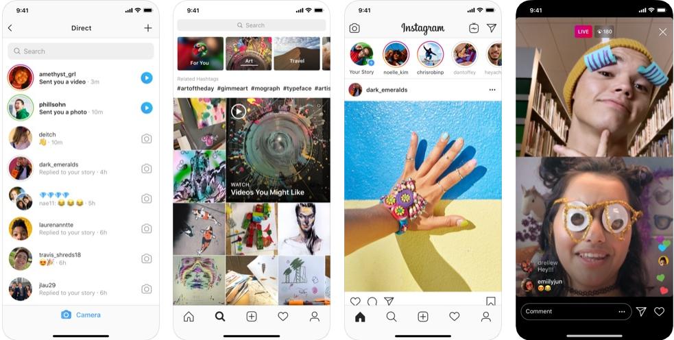 Instagram    - Aplikacija Blur Photo Background