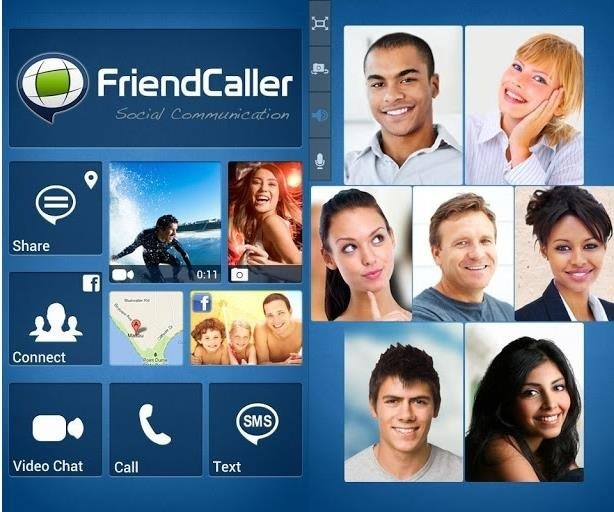 🥇 FriendCaller: besplatni grupni video chat, VoIP pozivi